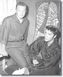 Joe 'Bitsy' Savery and Elvis.