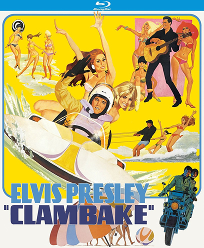 Elvis: 'Clambake' Region Free Blu-ray.