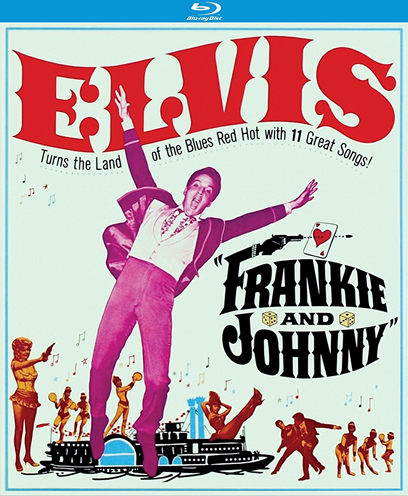 Elvis: 'Frankie and Johnny' Region Free Blu-ray.