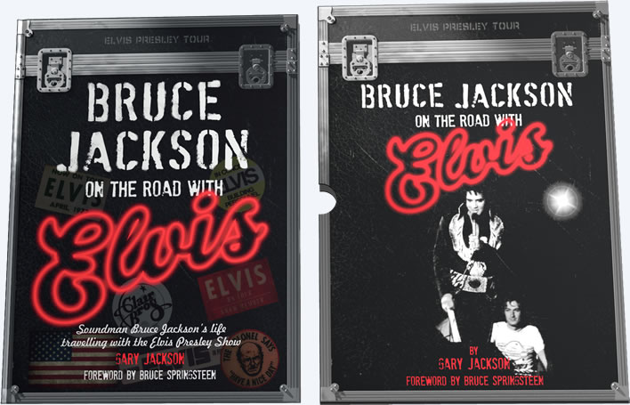 Bruce Jackson On The Road With Elvis Hardcover Book (in Slipcase).