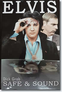 Elvis Safe & Sound Hardcover Book.