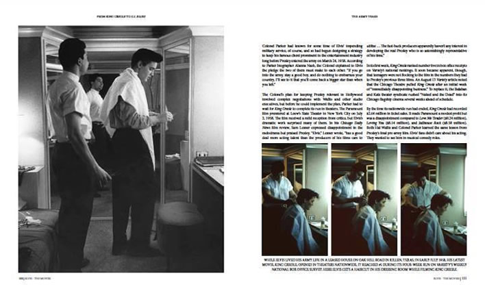 Elvis: 'The Movies' large Hardback Book (Alan Hanson and Erik Lorentzen).
