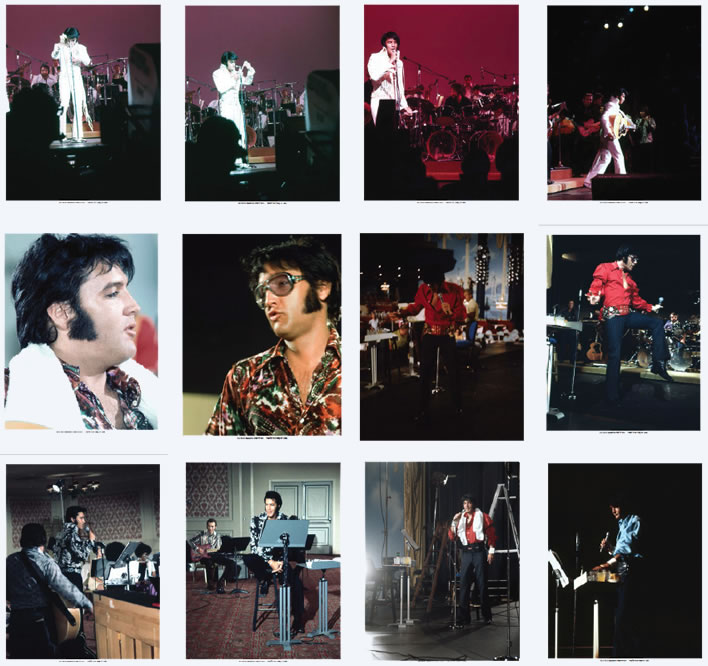 Exclusive Photos | Elvis Summer Festival Volume 4 5 Hardcover Book Set