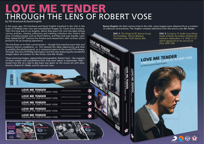 Love Me Tender | Through The Lens of Robert Vose Hardcover Book from FTD