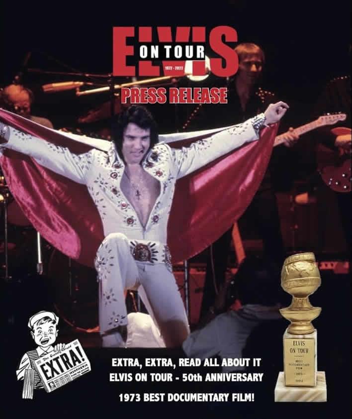 Elvis On Tour 1972-2022 | 3 Large Hardcover Books from Erik Lorentzen