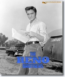 Elvis: 'The Reno Brothers' (Love Me Tender) Hardcover Book.