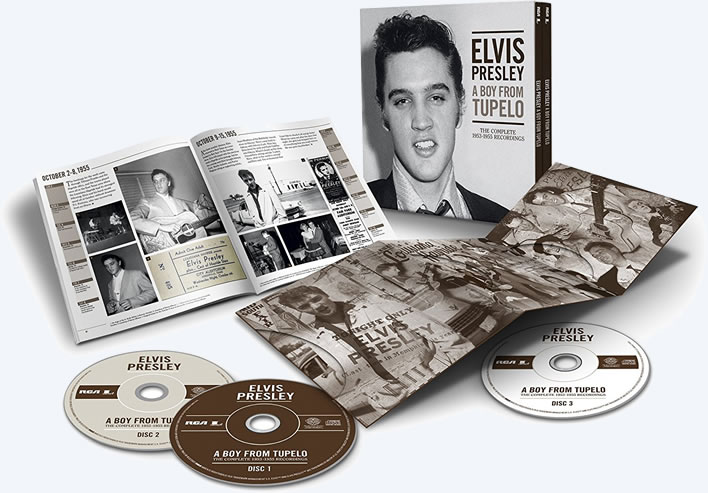 A Boy From Tupelo: The Complete 1953-1955 Recordings.