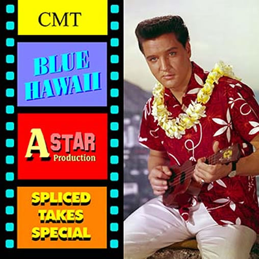 'Blue Hawaii | Spliced Takes Special' CD.