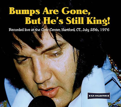 'Bumps Are Gone But He's Still King!' CD