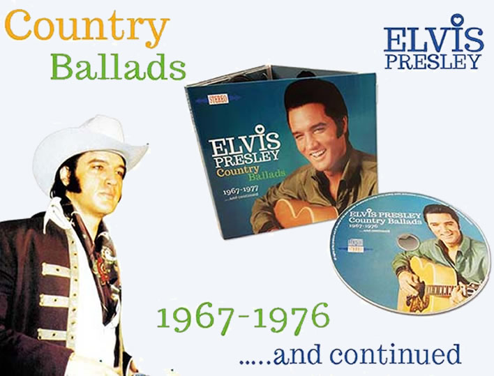 Elvis: Country Ballads CD