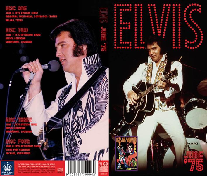 'Elvis June '75' 4 CD Set