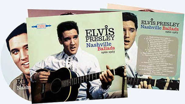 Elvis: 'Nashville Ballads' CD.