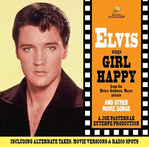 Elvis Sings Girl Happy (Bootleg Series) CD