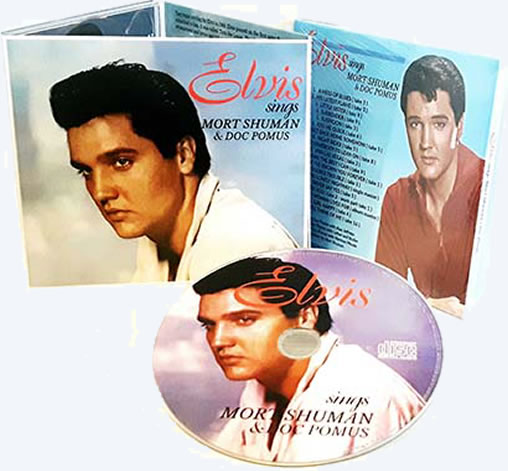 Elvis Sings Mort Shuman And Doc Pomus CD