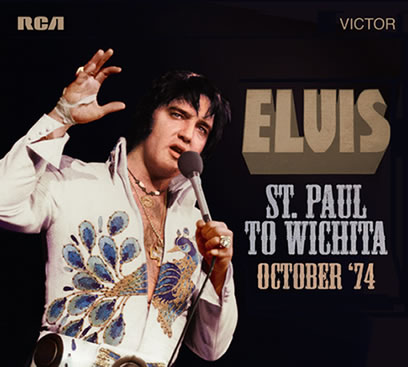 'Elvis: St. Paul To Wichita - October '74' (2-CD) from FTD