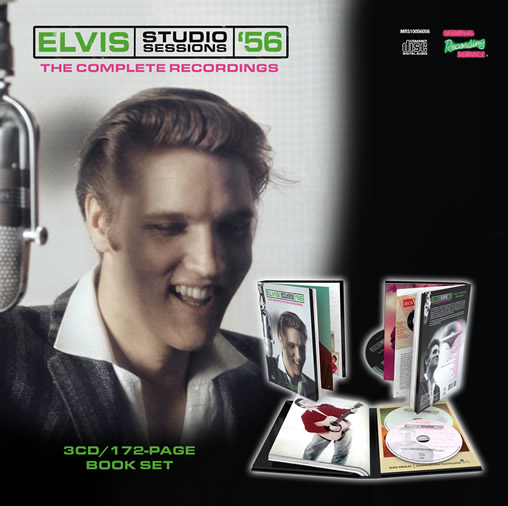 'Elvis Studio Sessions '56' 3 CD Set from MRS.