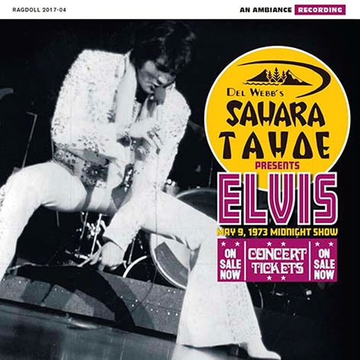 Elvis: Tahoe '73 CD.