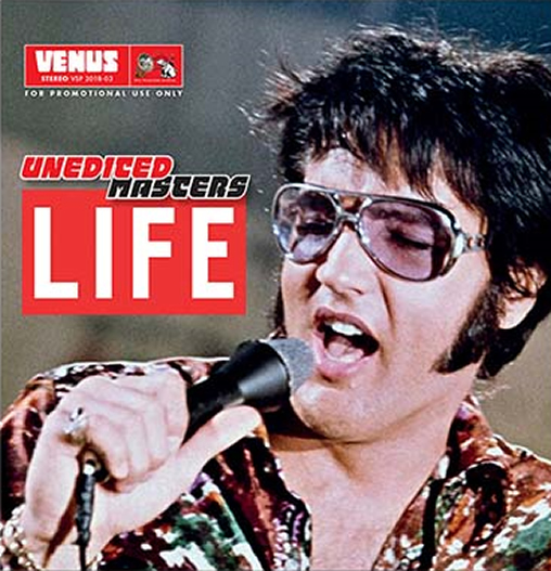 Elvis: 'Unedited Masters:'Life' CD