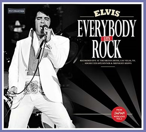 Everybody Let's Rock: From Japan With Love Vol. 3 CD.
