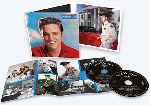 Elvis: 'For LP Fans Only' 2 CD Special Edition Classic Album.