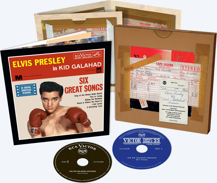 Elvis: The Kid Galahad Sessions FTD 2 CD Boxset.