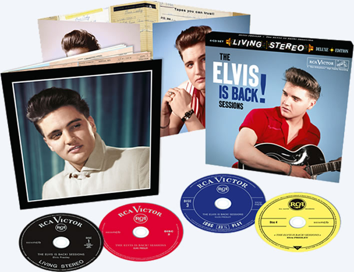 Released | The Elvis Is Back Sessions 4-CD Set from FTD