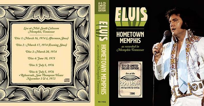 Elvis: Hometown Memphis 6 CD Set