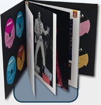 Elvis On Tour: 45th Anniversary Edition | 9 CD | Hardcover Book Boxset.