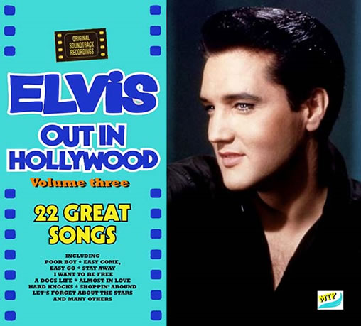 Elvis: 'Out In Hollywood' Vol. 3 and 'The Nashville Marathon' Vol. 2 CDs