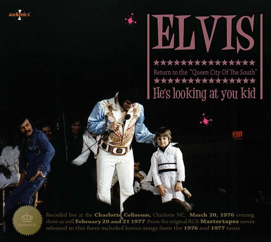 Elvis: Return To The Queen City of The South 3 CD Set