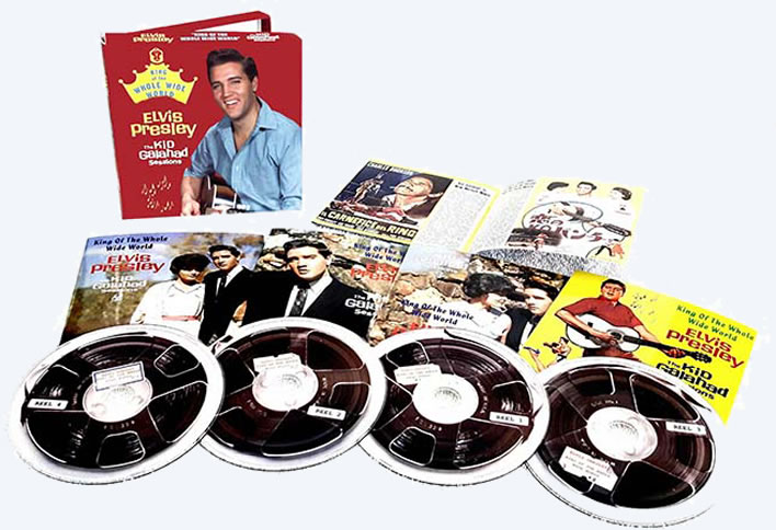 'King Of The Whole Wide World | The Kid Galahad Sessions' 4 CD boxset