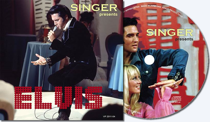 'Singer Presents Elvis' CD
