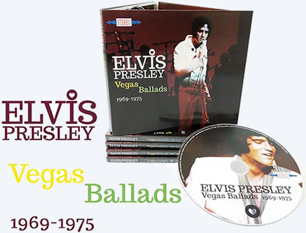 Elvis: Vegas Ballads 1969-1975 CD