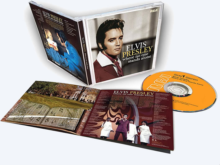 Elvis: 'Where No One Stands Alone' CD.