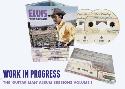 Work In Progress | The Guitar Man Album Sessions Volume 1 CD Set