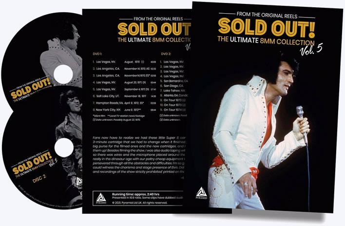 Elvis Sold Out Vol 5 | 2 x DVD Set