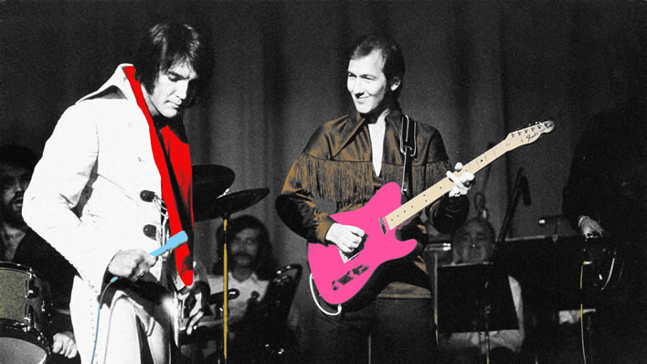 James Burton Looks Back on Elvis Presley's Vegas Years