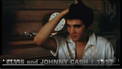 Previously Unseen | Elvis Presley and Johnny Cash