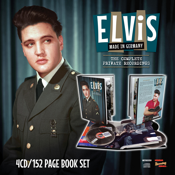 Elvis | Made In Germany | The Complete Private Recordings 4 CD/Book Set from MRS.