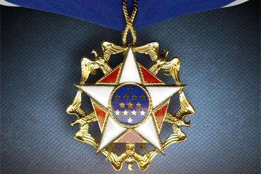 Elvis Presley Awarded the Presidential Medal of Freedom