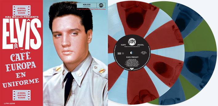 Unboxing | Elvis Presley | Café Europa En Uniforme 2LP Record