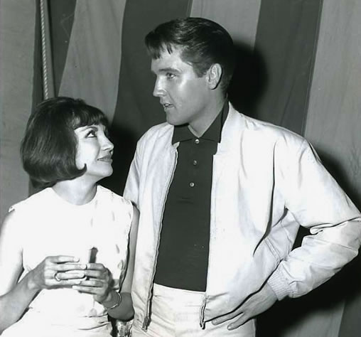 Elvis Presley and Elsa Cárdenas
