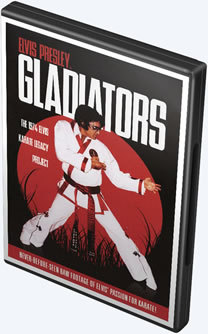 Elvis Gladiators DVD.
