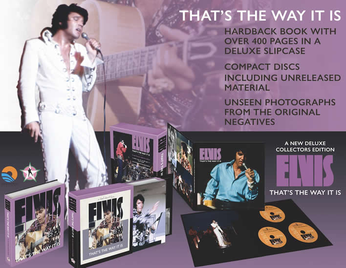 Elvis Presley | That's The Way It Is | Deluxe Hardbound book and CD Boxset.