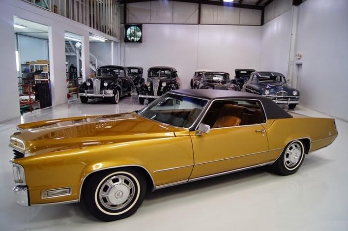 Elvis Presley's 1968 Cadillac Eldorado Coupe
