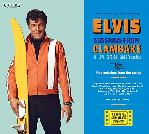 Elvis Sessions From Clambake 3 CD Set.