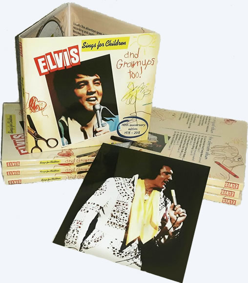 Elvis Sings For Children And Grownups Too! CD (40th anniversary release).