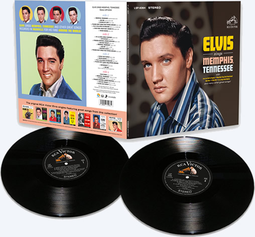 'Elvis Sings Memphis Tennessee' Limited Vinyl Edition from FTD