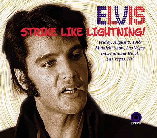 Elvis: 'Strike Like Lightning!' CD from Straight Arrow