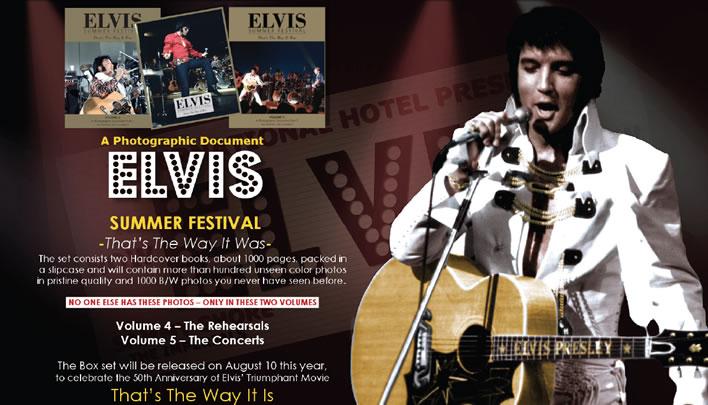 Elvis Summer Festival Volume 4 and 5 Hardcover Book Set